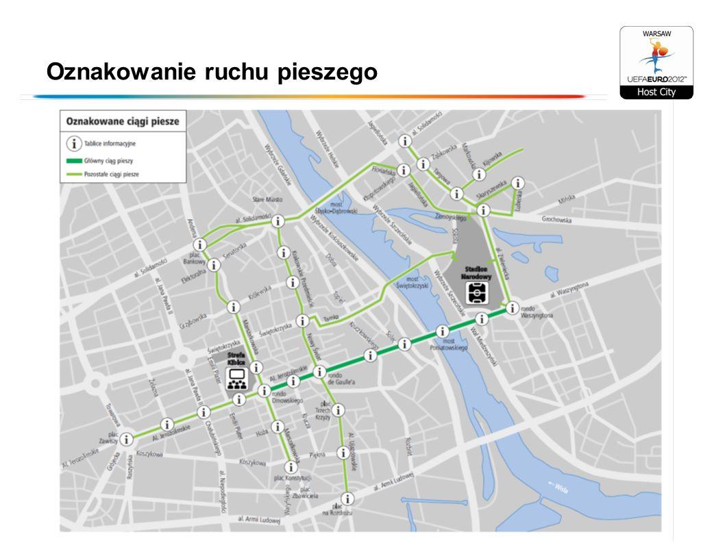 Oznakowanie ruchu pieszego