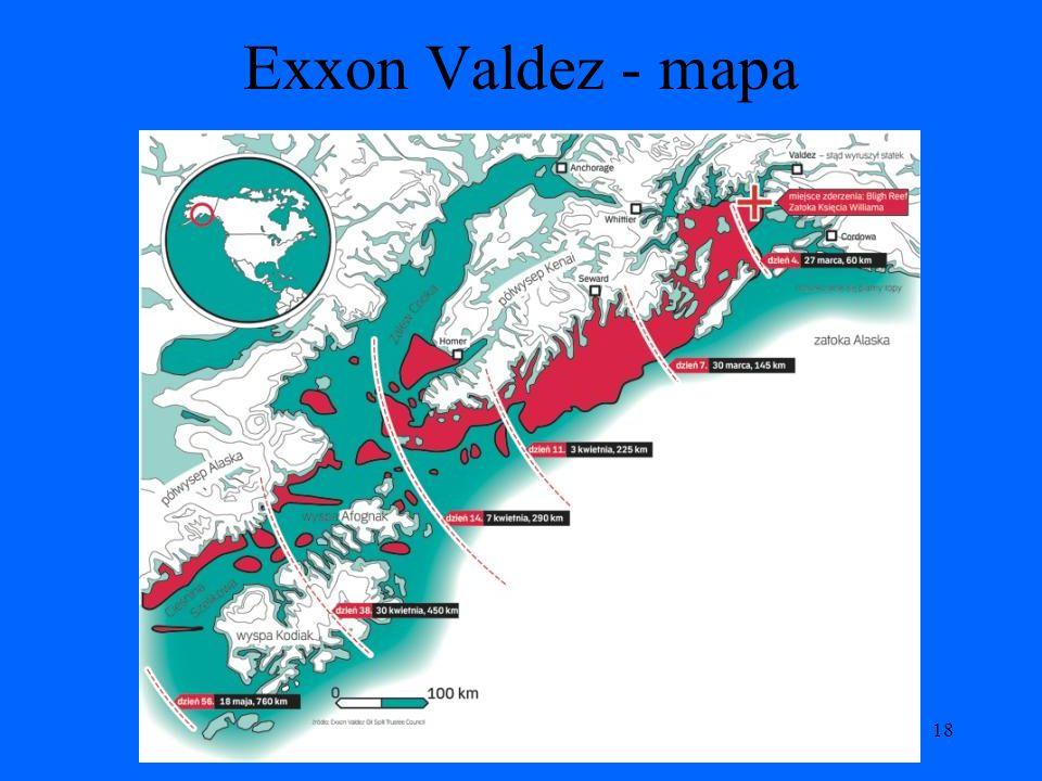 Exxon Valdez - mapa 18