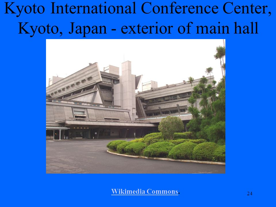 Kyoto International Conference Center, Kyoto, Japan - exterior of main hall 24 Wikimedia CommonsWikimedia Commons.