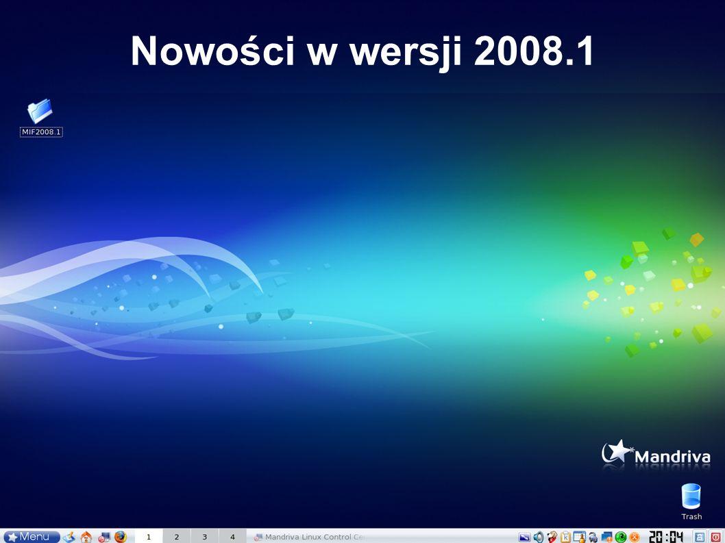 Nowości w wersji 2008.1