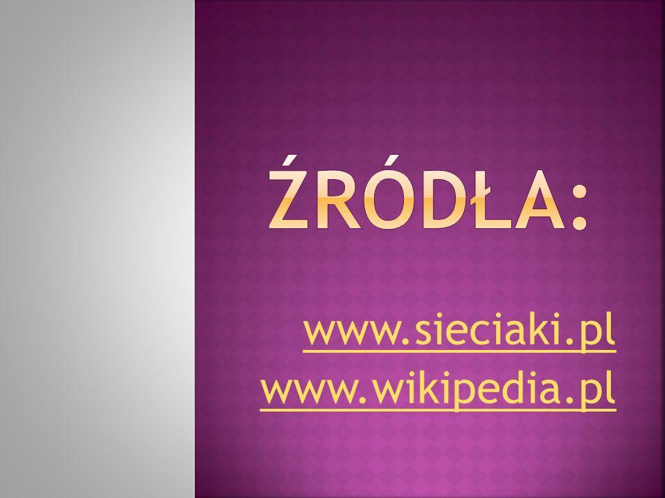 www.sieciaki.pl www.wikipedia.pl