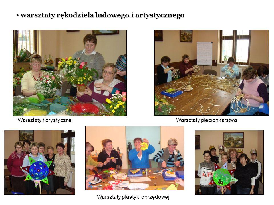 warsztaty rękodzieła ludowego i artystycznego warsztaty rękodzieła ludowego i artystycznego Warsztaty florystyczneWarsztaty plecionkarstwa Warsztaty p