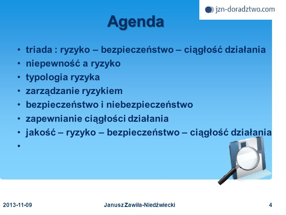 2013-11-0975 Publikacje Białas A.Bezpieczeństwo informacji i usług, WNT, 2007 Liderman K.