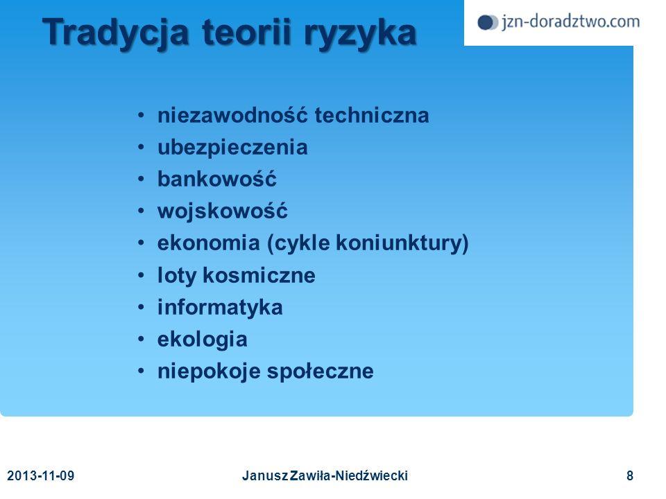 2013-11-0959 Wzorcowa lista zagrożeń Wzorcowa lista zagrożeń (2) Terroryzm szantaż zamach inne Copyright © 2011 Janusz Zawiła-Niedźwiecki