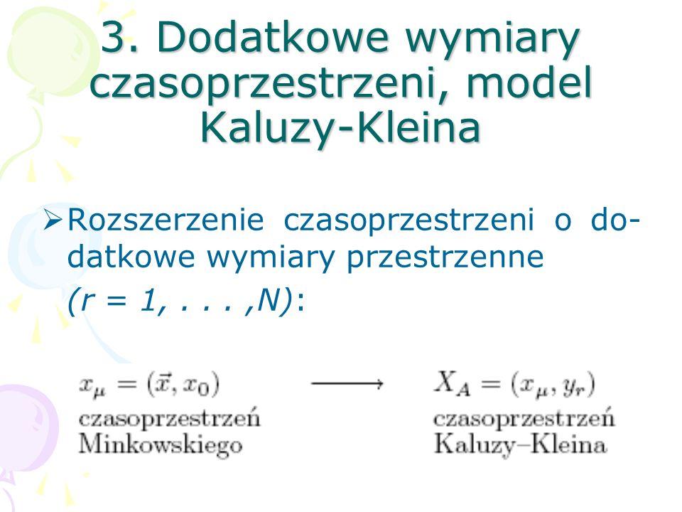 Powyższa unifikacja jest niemożliwa na gruncie teorii algebr Liego. Konieczność wprowadzenia superalgebr.
