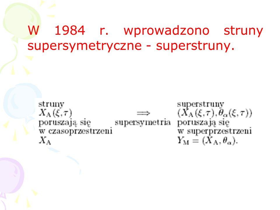 W dwóch wymiarach struny opisuje bezmasowe, konforemnie niezmien- nicze równanie falowe, stany klasyczne struny (bez oddziaływania i z oddziaływaniem)