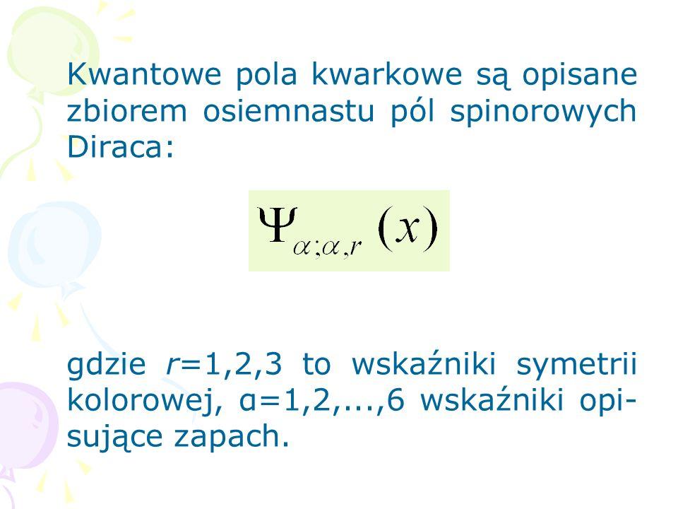 KwantoweFTfotony potencjały elektro- (kwanty magnetyczneświatła), kwantowe polaFTgluony Yanga-Milsa (kwanty pola gluonowego), kwantowe poleFTgrawitony