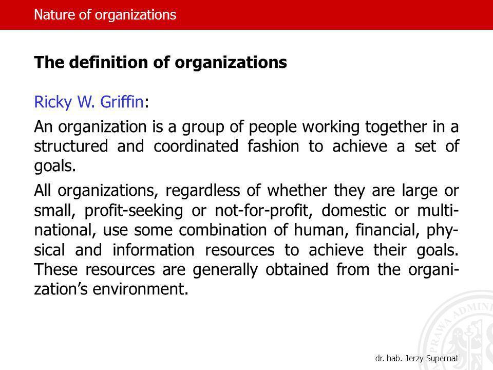 Nature of organizations Richard H.Hall, Pamela S.