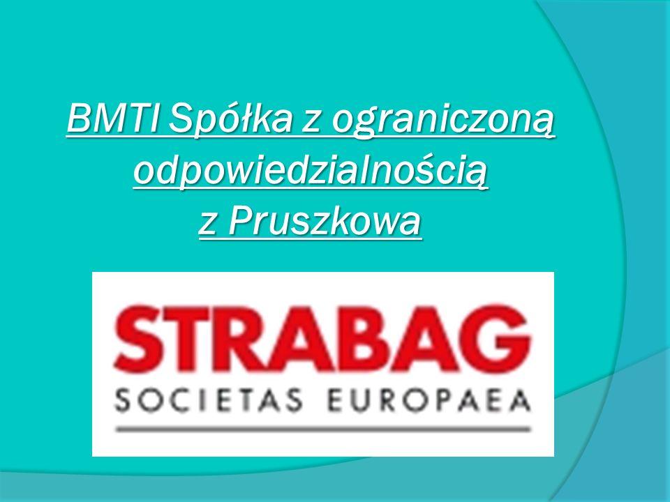 BMTI Spółka z ograniczoną odpowiedzialnością z Pruszkowa