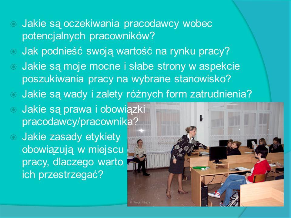 Marketing firmy Zajęcia z uczniami klasy II D prowadził pan Sylwester Kwiatkowski.