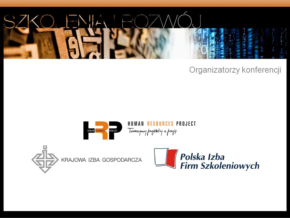 Organizatorzy konferencji
