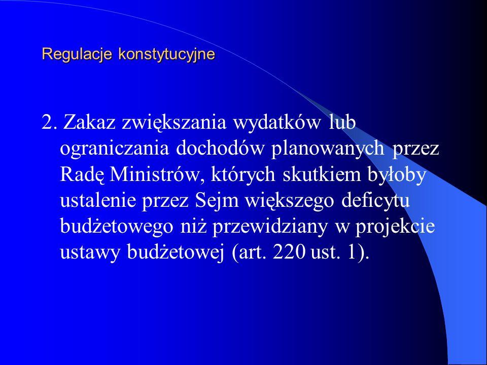 Regulacje konstytucyjne 3.