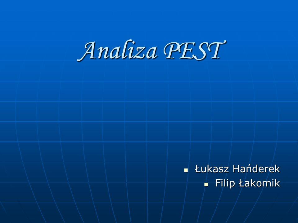 PEST - narzędzie planowania polegające na analizowaniu czynników politycznych, ekonomicznych, społecznych i technologicznych.