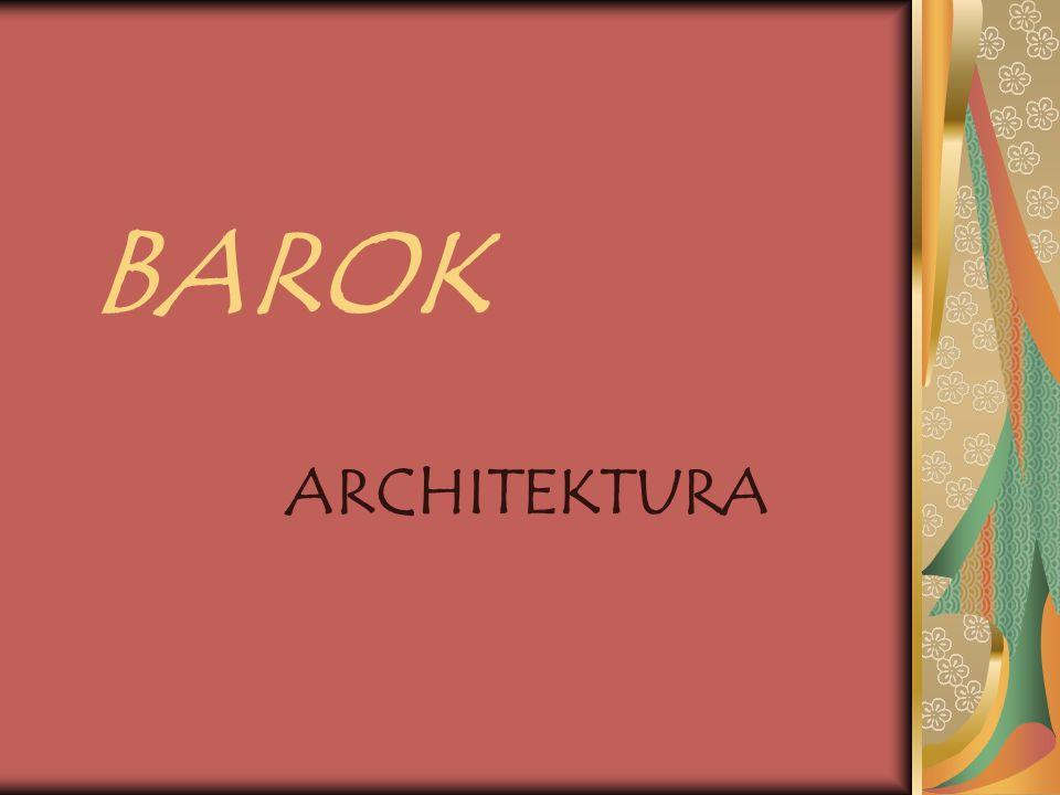 Termin barok Termin barok pochodzi od włoskiego słowa barocco, które można przetłumaczyć jako krzywy, nieregularny, urągający dobremu smakowi.