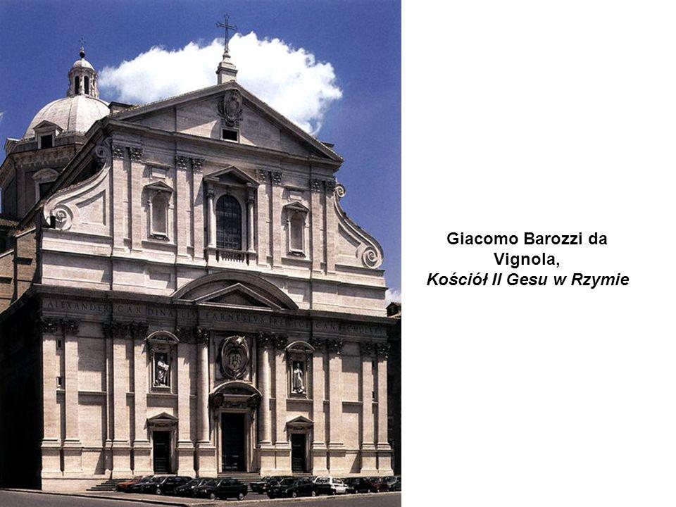 Giacomo Barozzi da Vignola, Kościół Il Gesu w Rzymie