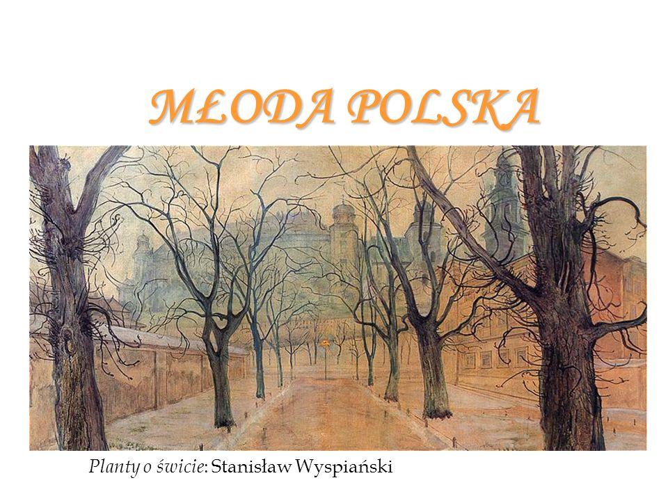 MŁODA POLSKA Planty o świcie : Stanisław Wyspiański