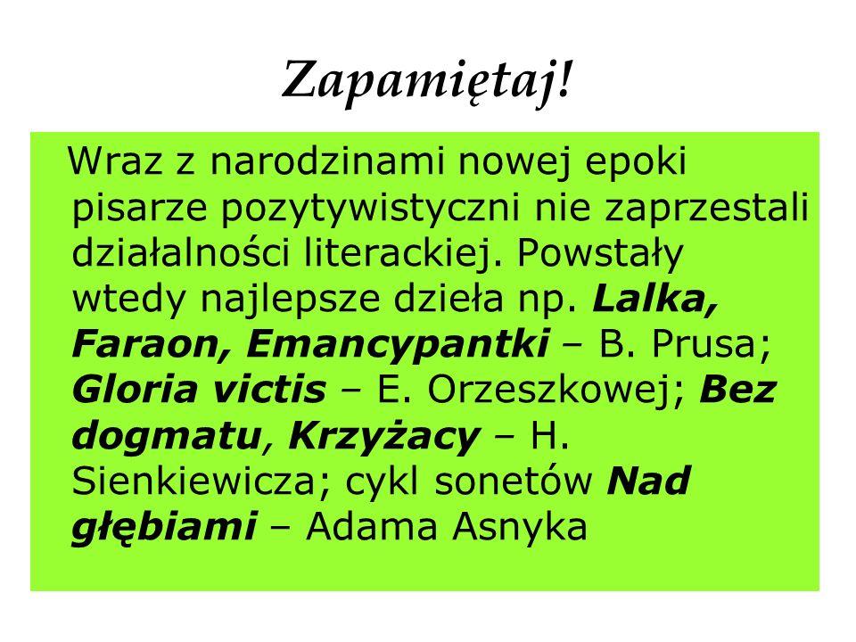 RÓŻNORODNOŚĆ NAZW EPOKI Termin Młoda Polska po raz pierwszy użyty został w roku 1898 w krakowskim piśmie Życie.