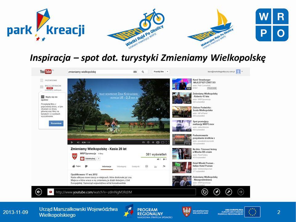 Celem kampanii jest poinformowanie mieszkańców Wielkopolski o efektach wdrażania Wielkopolskiego Regionalnego Programu Operacyjnego na lata 2007- 2013.