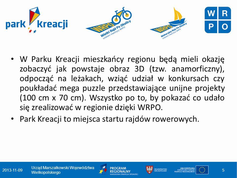 W każdą środę w danej miejscowości artysta będzie rozpoczynał pracę nad rysunkiem 3D (malowanie planowane jest na trzy dni), a KW PSP w Poznaniu zaprezentuje pokaz sprzętu ratowniczo- gaśniczego.