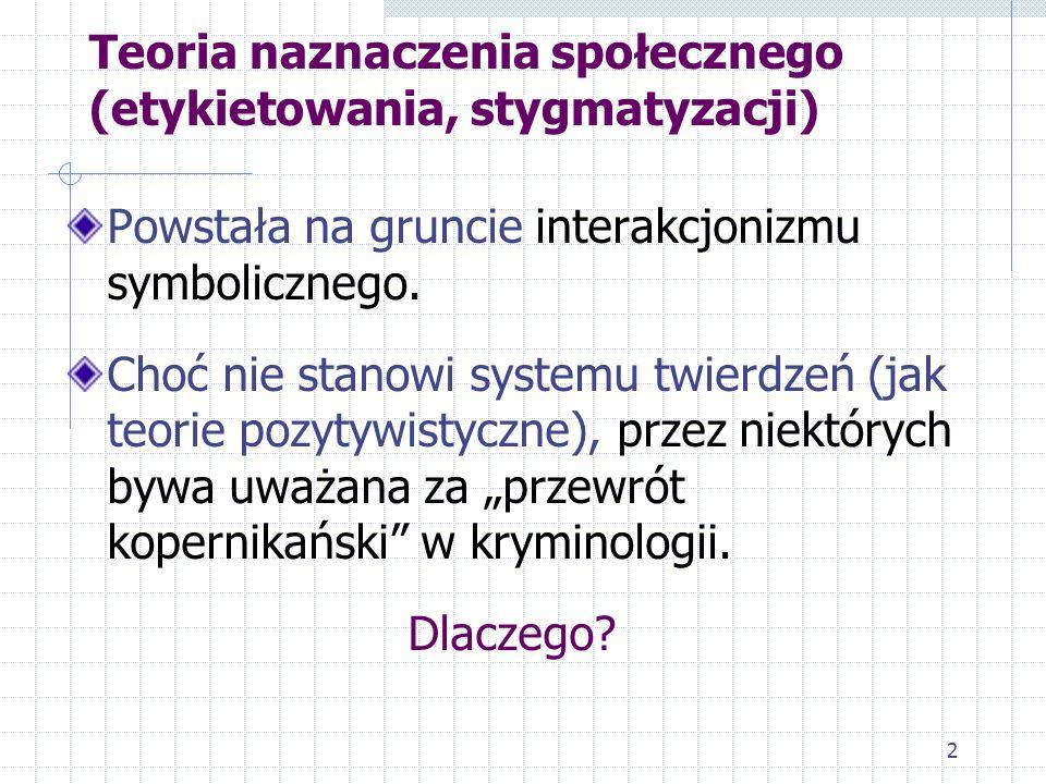 1 (2) Teorie kryminologiczne (kryminologia antynaturalistyczna i neoklasyczna)