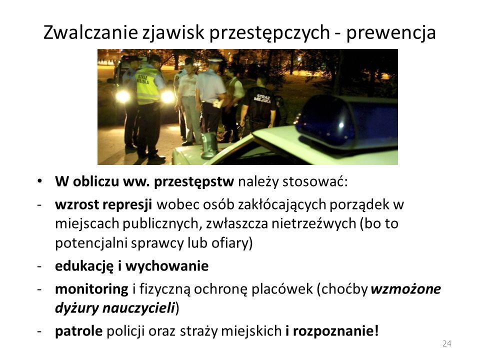 Zwalczanie zjawisk przestępczych 3.