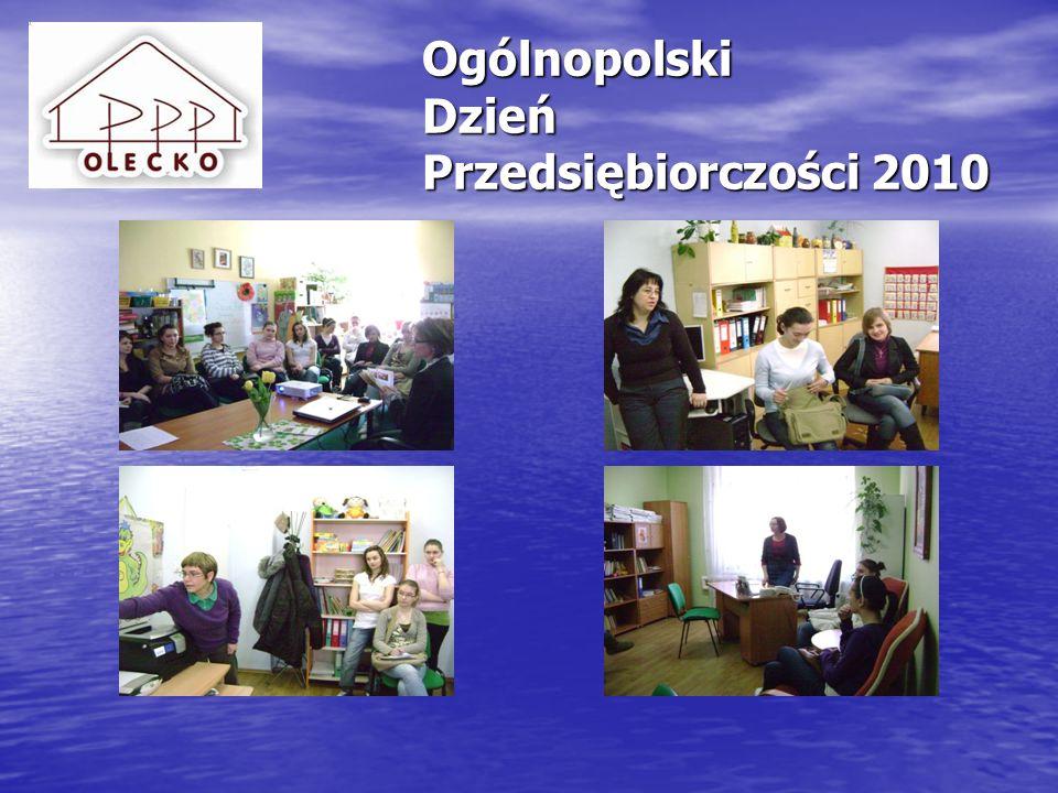 Ogólnopolski Dzień Przedsiębiorczości 2011 Ogólnopolski Dzień Przedsiębiorczości 2011