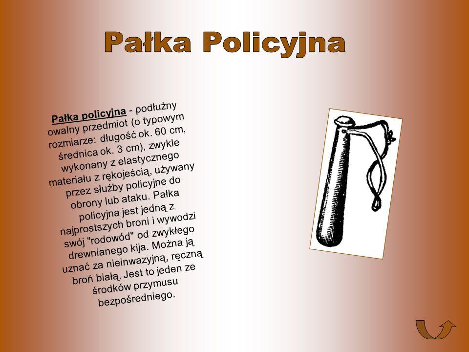 Kajdanki - przyrząd składający się z dwóch otwieranych obręczy oraz łańcucha lub sznura łączącego je. Kajdanki służą do obezwładniania drugiej osoby p