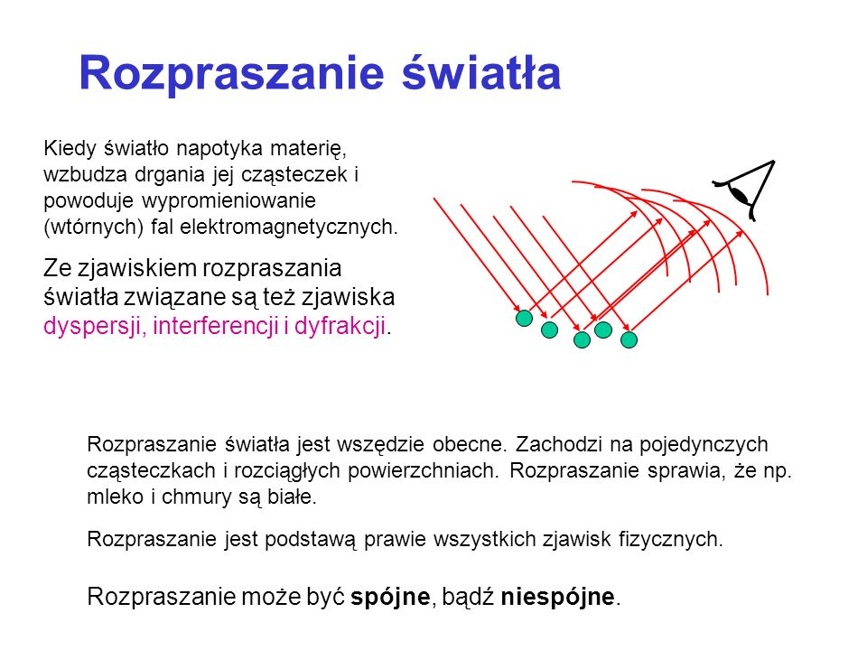 Transmitancja ( T ) T Moc transmitowana / Moc padająca t i wiwi wtwt nini ntnt A = powierzchnia Znajdźmy iloraz powierzchni wiązek: Wiązka załamana ulega rozciągnięciu tylko w jednym wymiarze: Transmitancja (transmisyjność)