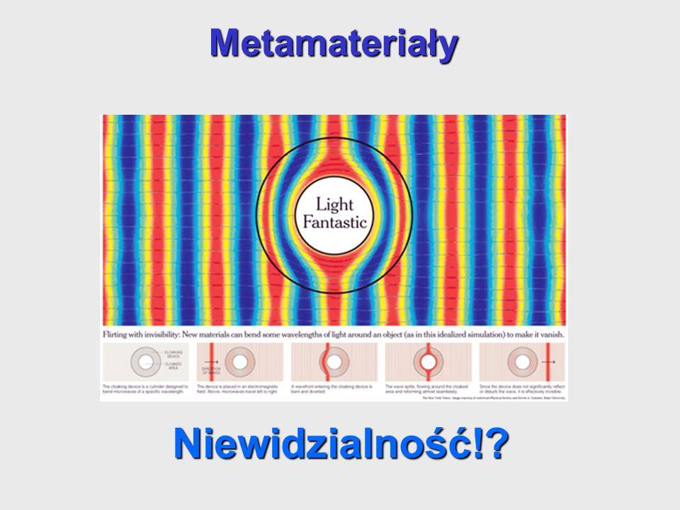 Metamateriały Niewidzialność!.