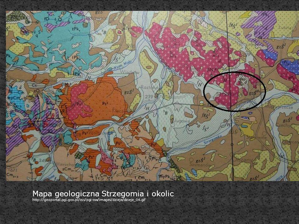 Mapa geologiczna Strzegomia i okolic http://geoportal.pgi.gov.pl/css/pgi-ow/images/dzieje/dzieje_04.gif