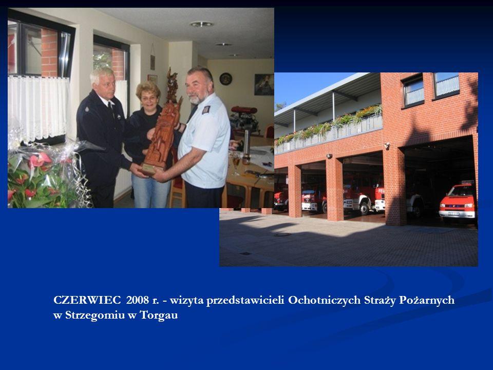 WRZESIEŃ 2007 r. - wizyta delegacji władz samorządowych Strzegomia w Torgau z okazji 10. rocznicy podpisania umowy partnerskiej