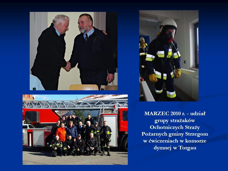 PAŹDZIERNIK 2009 r. - wizyta oficjalna nadburmistrz Torgau Andrei Staude wraz z przedstawicielami Urzędu i Rady Miejskiej w naszym mieście w celu pods