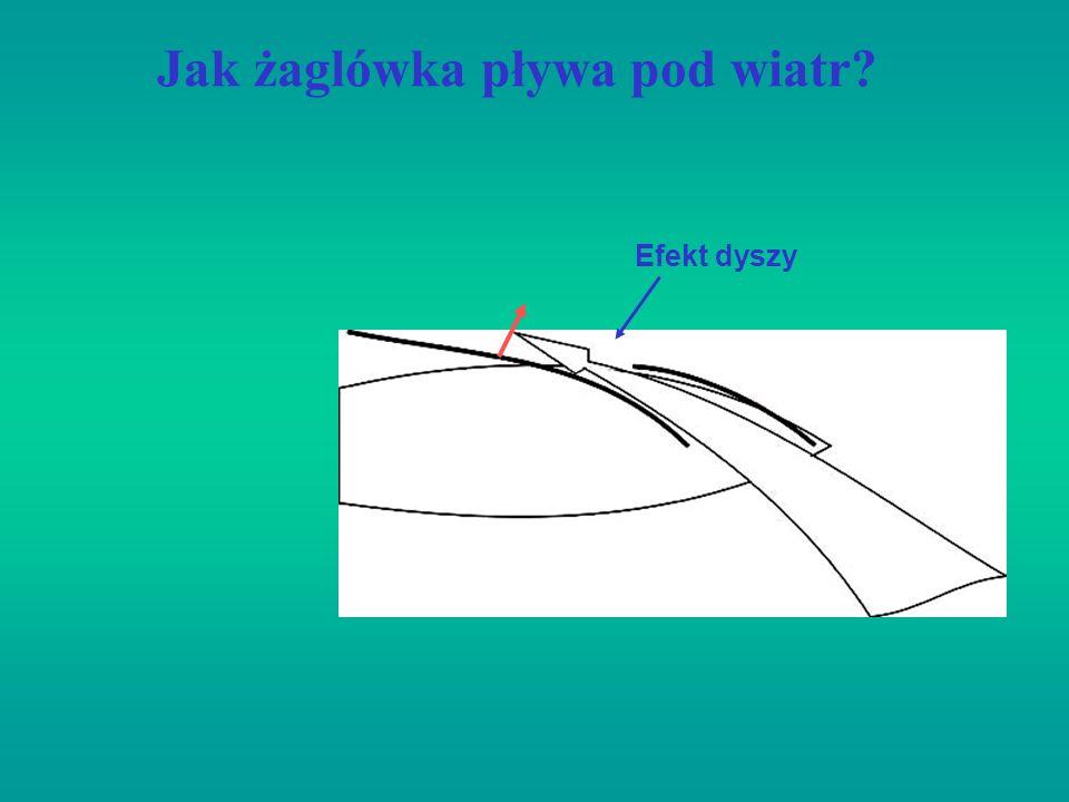 Jak żaglówka pływa pod wiatr? Efekt dyszy