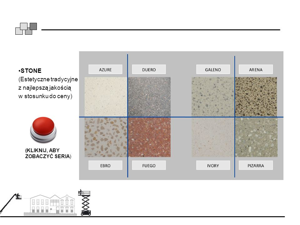 STONE (Estetyczne tradycyjne z najlepszą jakością w stosunku do ceny) (KLIKNIJ, ABY ZOBACZYĆ SERIA)