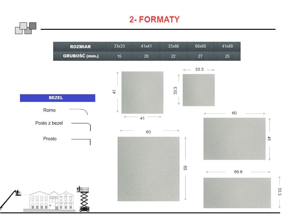 2- FORMATY