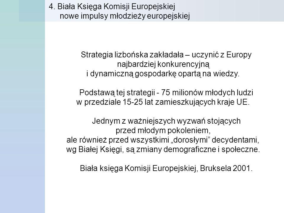 Strategia lizbońska zakładała – uczynić z Europy najbardziej konkurencyjną i dynamiczną gospodarkę opartą na wiedzy. Podstawą tej strategii - 75 milio