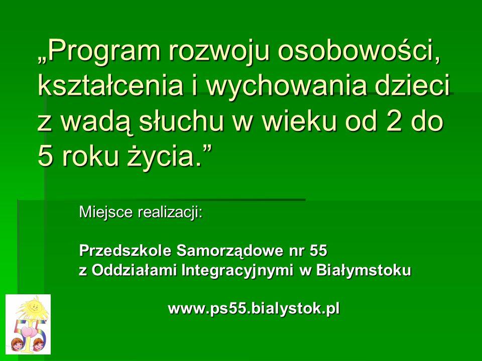 Białystok 8-12-2009 Autorzy i osoby realizujące innowację pedagogiczną mgr Dorota E.