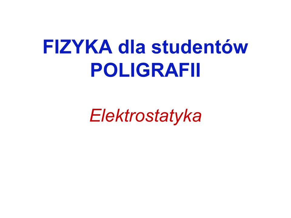 Ładunek elektryczny Ładunek jest skwantowany: Jednostką ładunku elektrycznego w układzie SI jest 1 kulomb (1C).