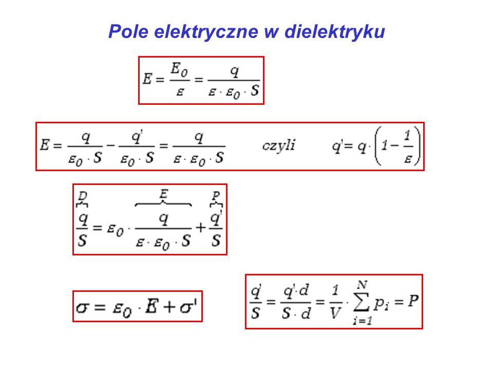 Pole elektryczne w dielektryku