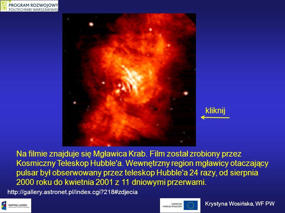 Ten sam pulsar w promieniach X.