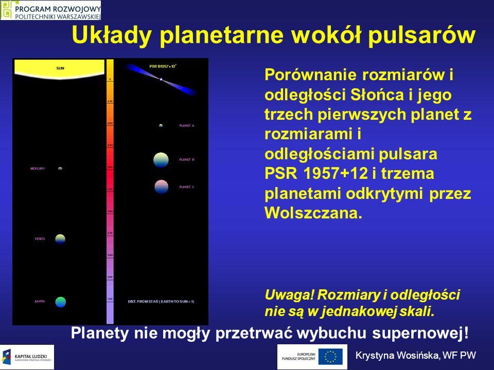 Dysk protoplanetarny wokół pulsara Następne pokolenie planet.