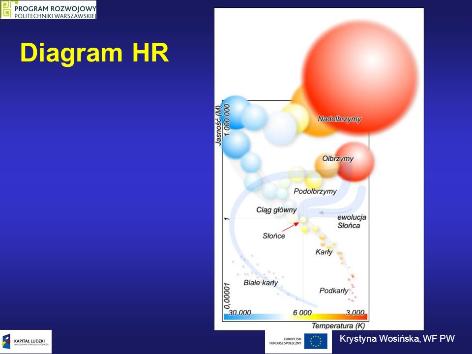 Diagram HR Krystyna Wosińska, WF PW