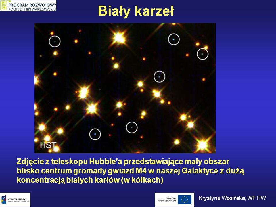 Gwiazdy neutronowe Co dzieje się ze zdegenerowanym gazem elektronowym.