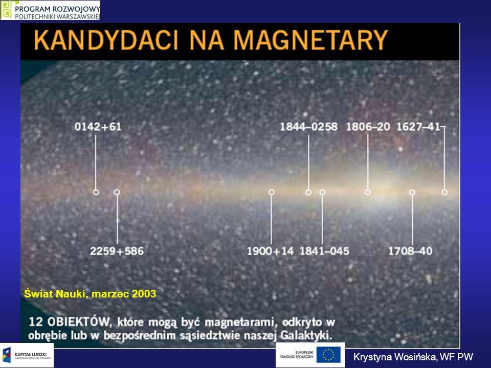 Magnetary W 1996 roku naukowcy z Los Almos Laboratory zwrócili uwagę, że powtarzalne źródła gamma są pod względem statystycznym podobne do trzęsień ziemi.