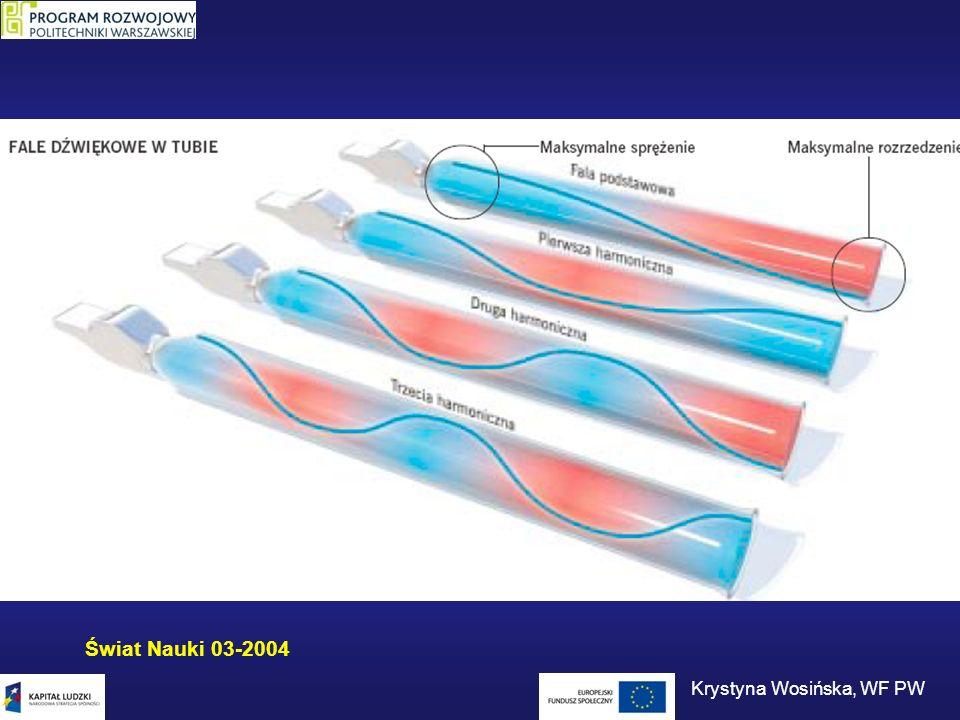 Świat Nauki 03-2004 Krystyna Wosińska, WF PW
