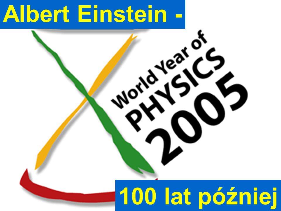 Albert Einstein - Jan Pluta, Wydział Fizyki PW 100 lat później