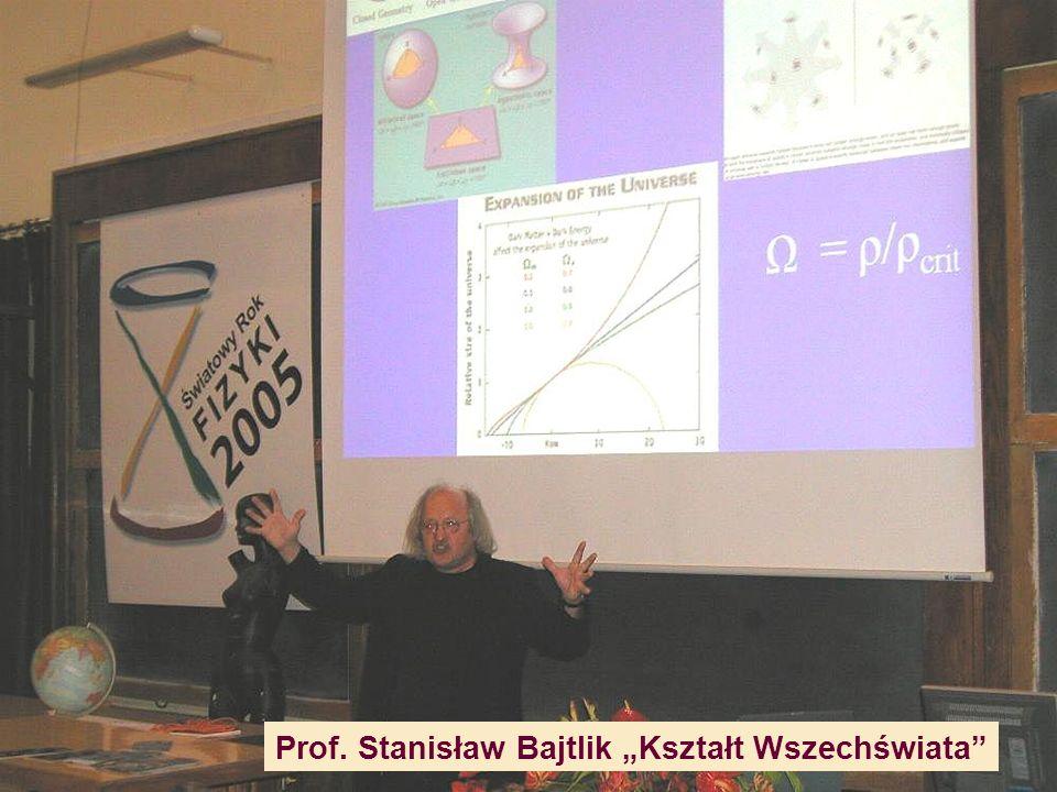 Ks.prof. Michał Heller Einstein, Wszechświat i my