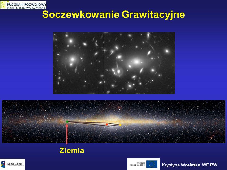 Soczewkowanie Grawitacyjne Ziemia Krystyna Wosińska, WF PW