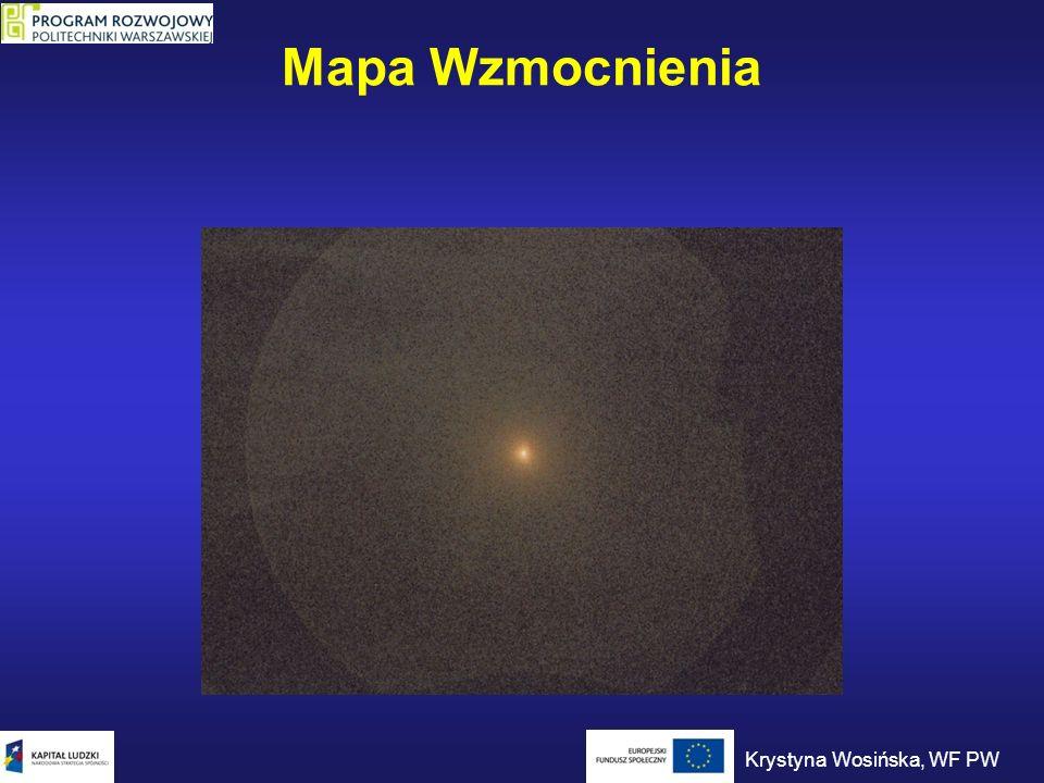 Mapa Wzmocnienia Krystyna Wosińska, WF PW