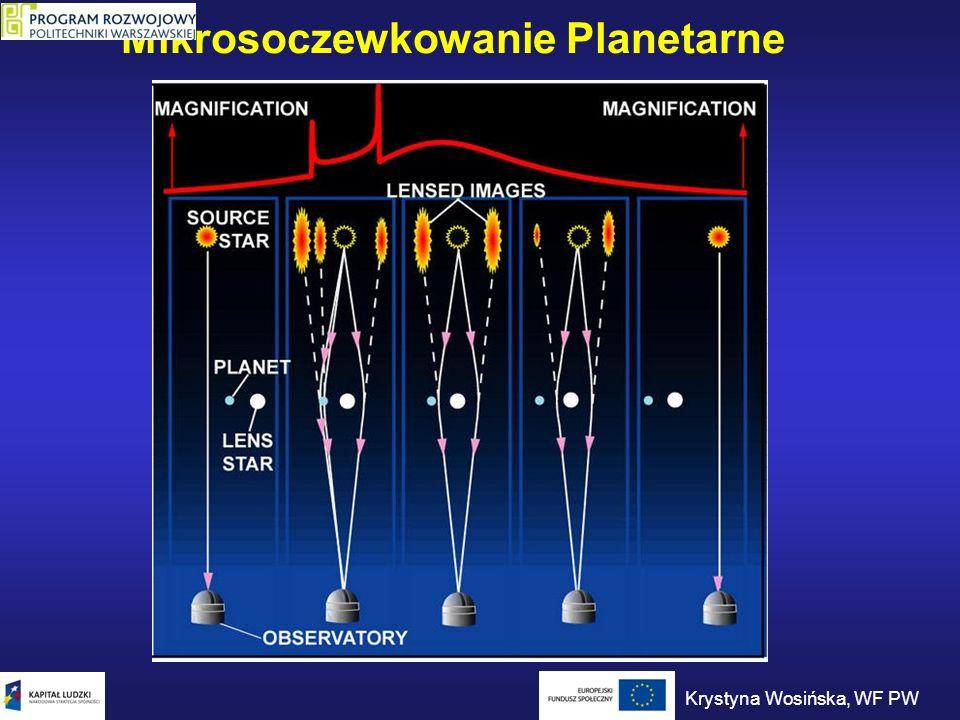 Mikrosoczewkowanie Planetarne Krystyna Wosińska, WF PW